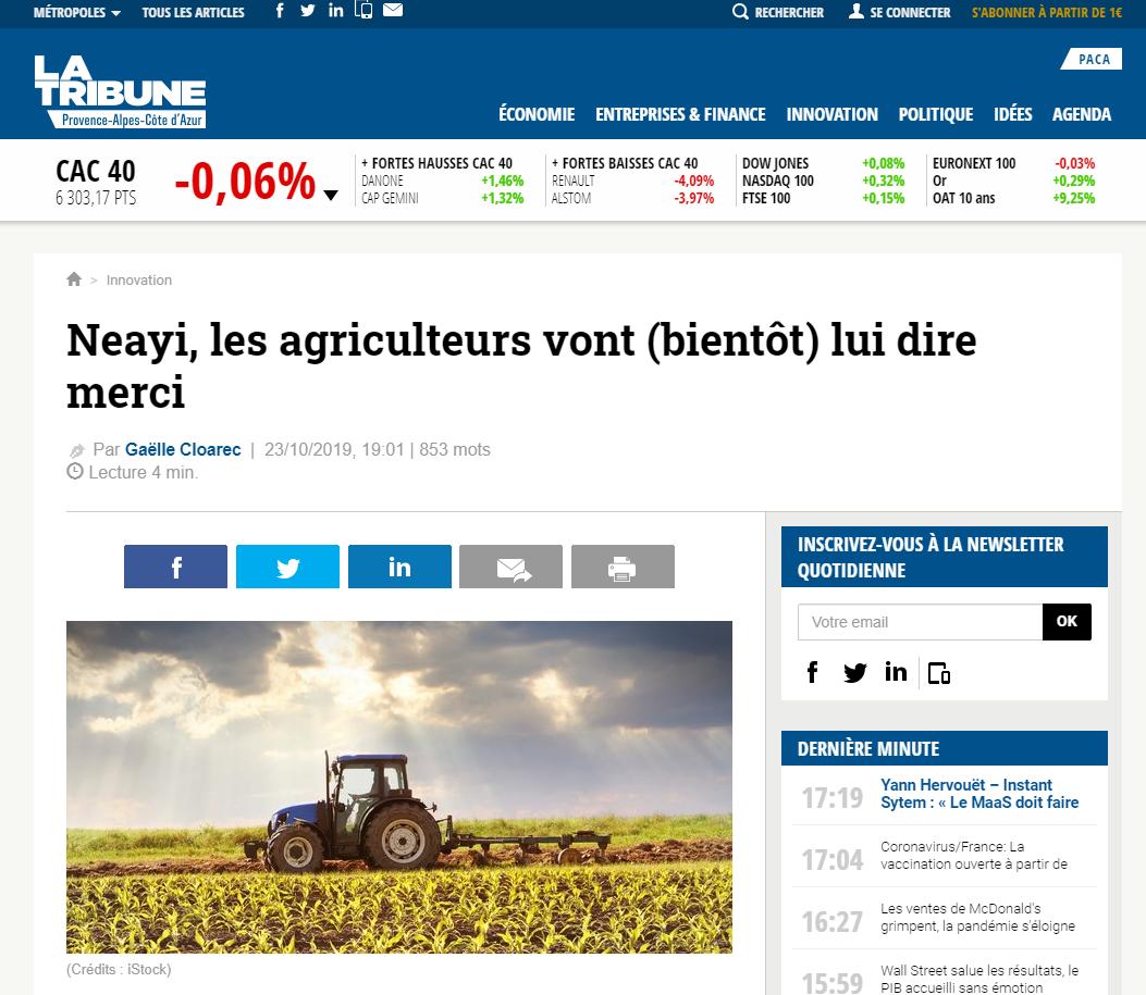 2019-10-23-Article-La-Tribune-PACA-Thumb
